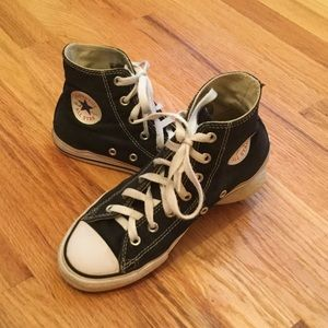 Converse Black High Top Chuck Taylor All Stars 3